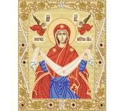 Схема для вышивки бисером Покров Пресвятой Богородицы