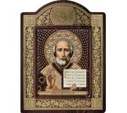 Набор для вышивки бисером в рамке-киоте Св. Николай Чудотворец