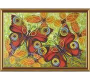 Набор для вышивки бисером Бабочки