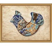 Набор для вышивки бисером Дар-птица