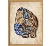 Набор для вышивки бисером Индийский слон
