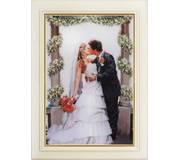 Набор для вышивки нитками в стиле Rococo Поцелуй невесты