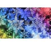 Схема для вышивки бисером Снежинки