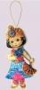 Игрушка из фетра Кукла. Восток